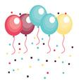 balloons design vector image