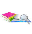 book search vector image