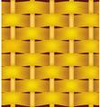 Wicker basket texture vector image