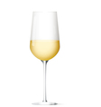 white vine glass vector image vector image