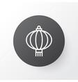 chinese lantern icon symbol premium quality vector image