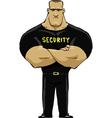 man security vector image vector image
