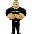 man security vector image