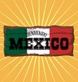 Mexico design vector image
