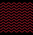 seamless geometric black white red brown wave vector image