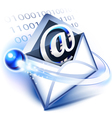 Electronic mail vector image