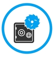 Hacking Theft Rounded Icon vector image