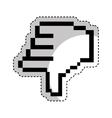 hand pointer cursor icon vector image