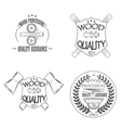 Wood quality vector image