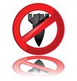 no to war vector image vector image