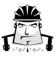 protective helmet vector image