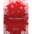 merry chrismas background vector image
