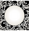 black curves circle2 vector image