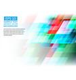 Geometric colorful abstract background vector image