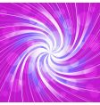 Swirl with circles vector image