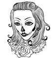 Death Women vector image