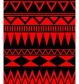Ethnic abstract seamless pattern with tribal vector image