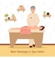 Beauty Salon Spa People vector image