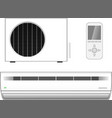 Air-conditioner vector image