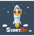 concept of start up new business project vector image
