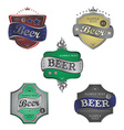 beer theme vector image