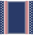 Blank abstract American background vector image