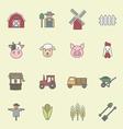 Farming icon vector image