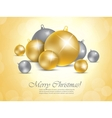 Xmas background vector image