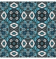 ethnic geometric tiled seamless pattern vector image