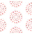Nacreous pearl pink circles seamless pattern vector image