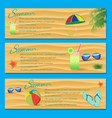 Summer Flyer Template vector image