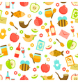 colorful pattern for Rosh Hashanah vector image