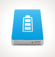 Portable Power Bank vector image vector image