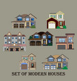 modern real estate vector image