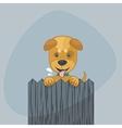 Happy Puppy vector image vector image