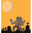 Werewolf and vector image