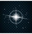 Shine star sparkle icon 15 vector image