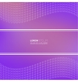 Modern abstract background with a dynamic pattern vector image