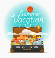 Dirrefent world famous sights travel Summe vector image