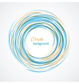 Abstract circle bright background vector image