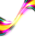 colorful glow background vector image