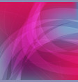 pink and blue abstract wavy background vector image