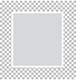 photo frame on isolated background photo frame vector image