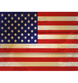 Wood Planks USA flag vector image vector image