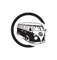 vintage volkswagen vector image