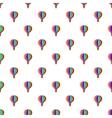 Balloon pattern cartoon style vector image