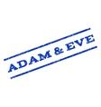 Adam  Eve Watermark Stamp vector image