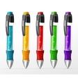 set pens vector image vector image