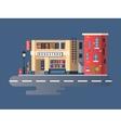 Book shop building vector image