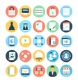 Digital Marketing Icons 6 vector image